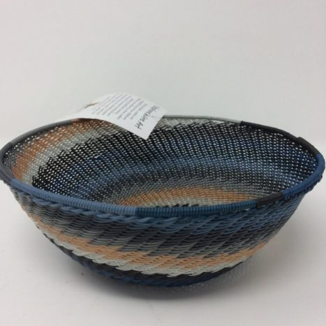 Telephone Wire Basket Midnight Blue