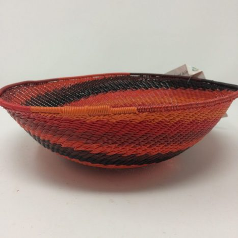 Telephone Wire Basket Rich Red