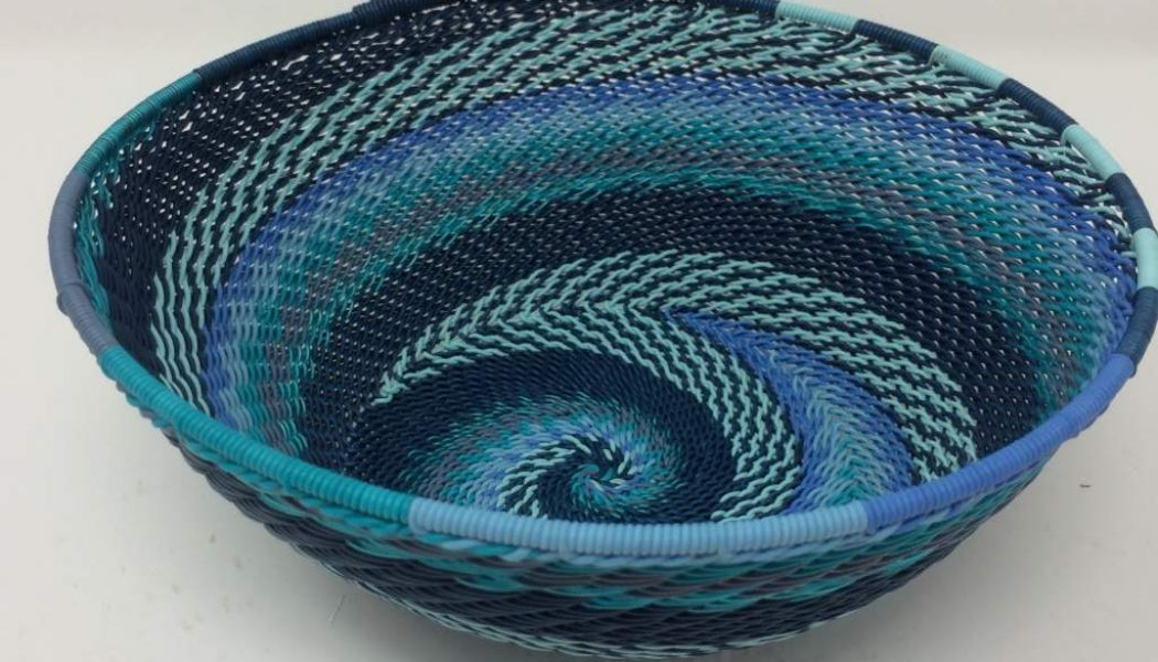 Telephone Wire Basket Ocean Waves 3