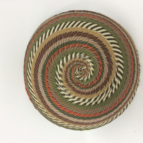 Telephone Wire Basket African Landscape 1