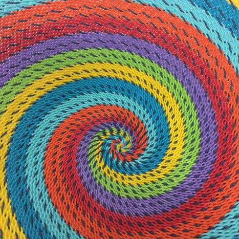 Telephone Wire Basket Rainbow