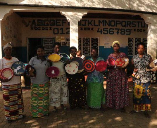 Baskets from Rwanda