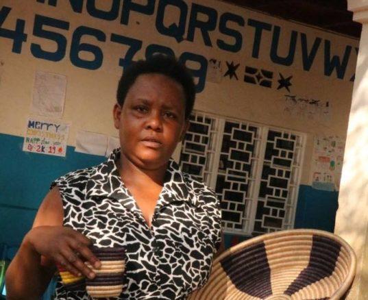 Weavers of Hope – meet Christine