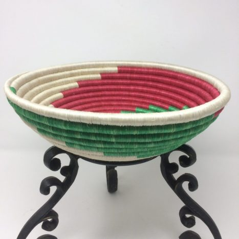Rwandan Baskets – Spirals Bowl 1