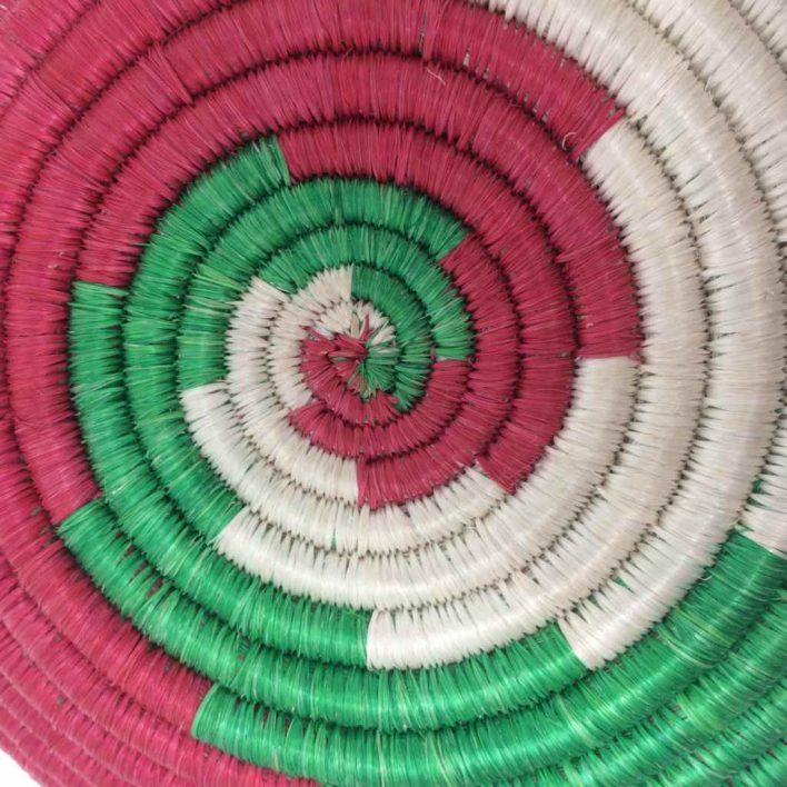 Rwandan Baskets – Spirals Bowl 1