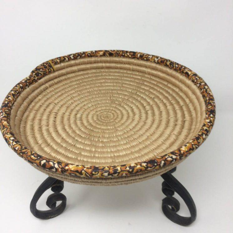 Rwandan Baskets – Platter 2