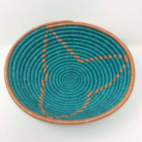 Rwandan Baskets – Starburst Bowl 1
