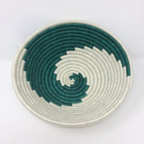 Rwandan Baskets – Spirals Bowl 3