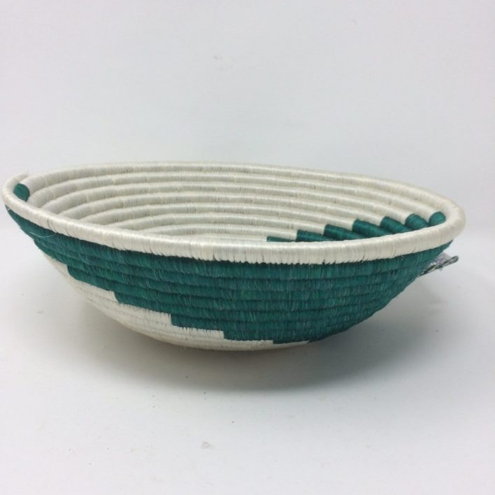 Rwandan Baskets – Spirals Bowl 3