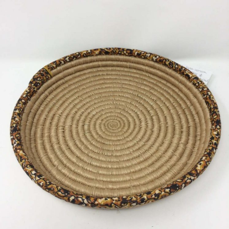 Rwandan Baskets – Platter 1