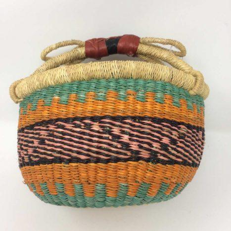 "Small Bolga Basket 8"" (8-6)"