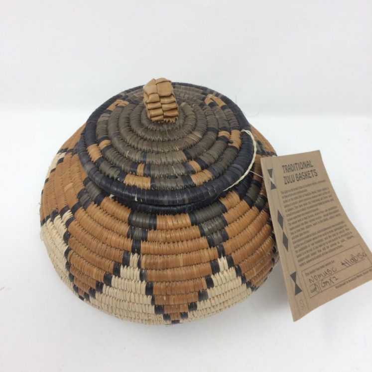 Zulu Ilala Palm Beer Basket – NH