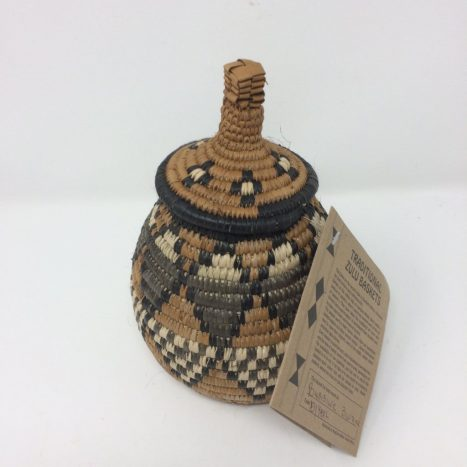 Zulu Beer Basket – Miniature BZ