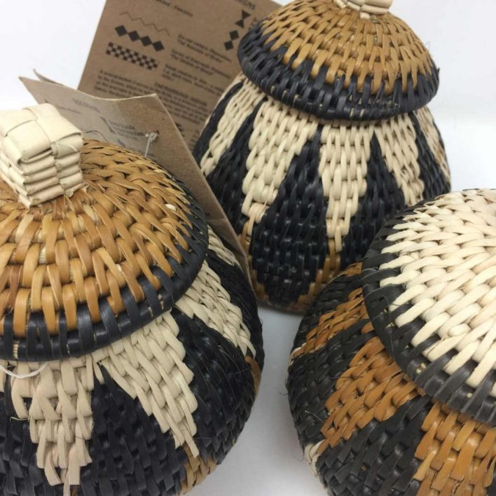 Zulu Herb Baskets Set of 3