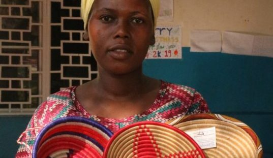 Weavers of Hope – Meet Joseline