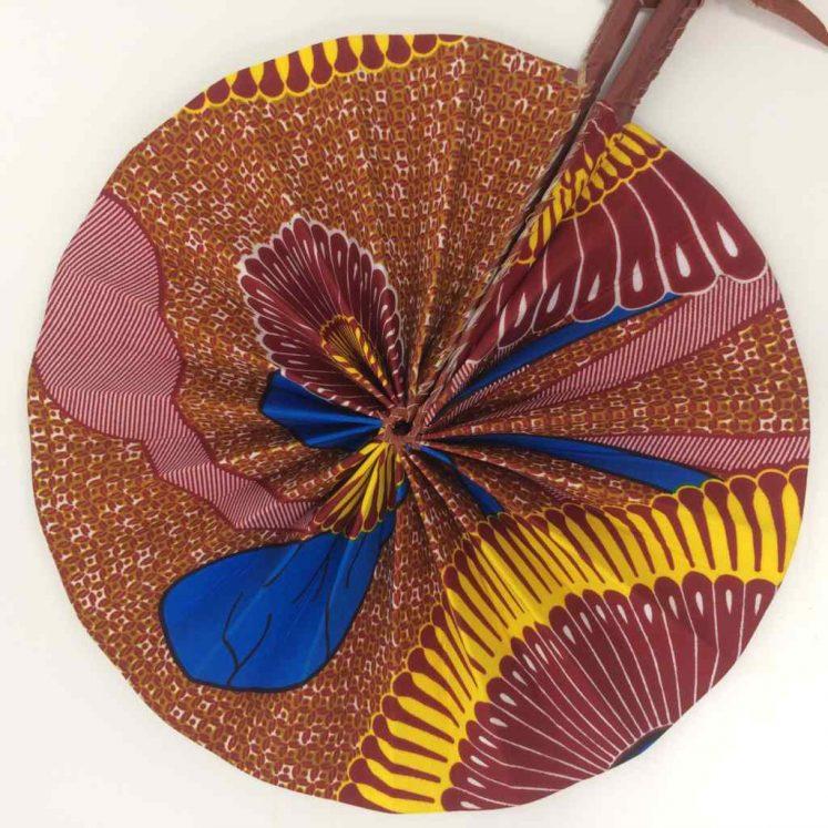 African Kente Fan 1