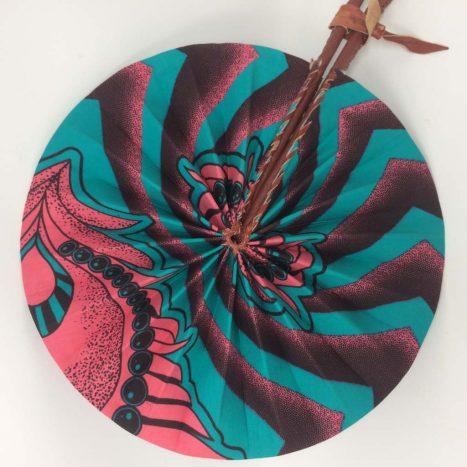 African Kente Fan 3