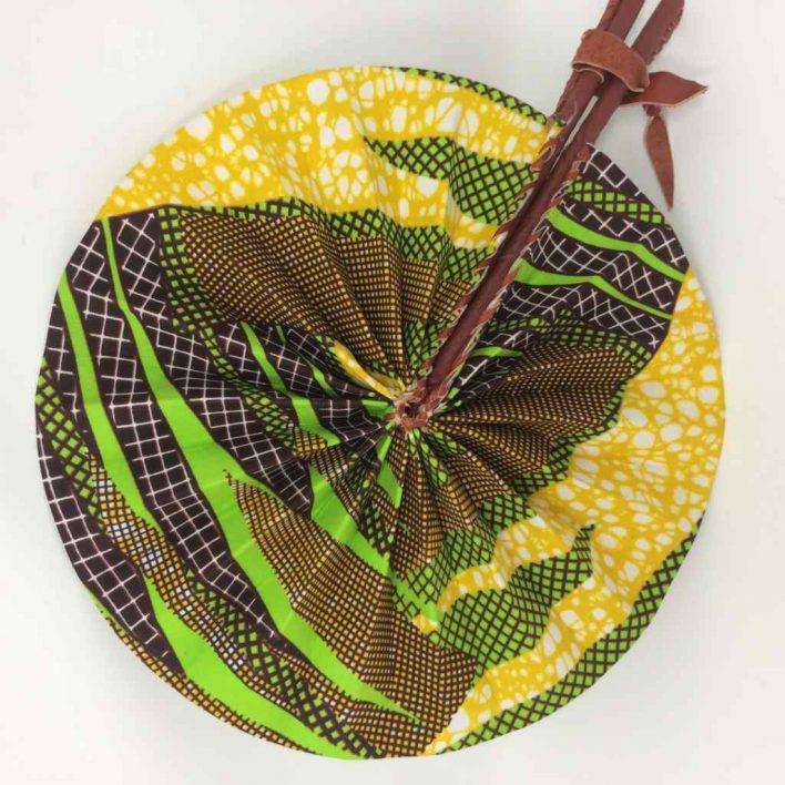African Kente Fan 4