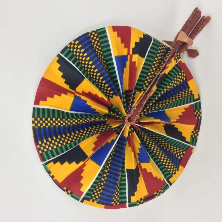 African Kente Fan 5