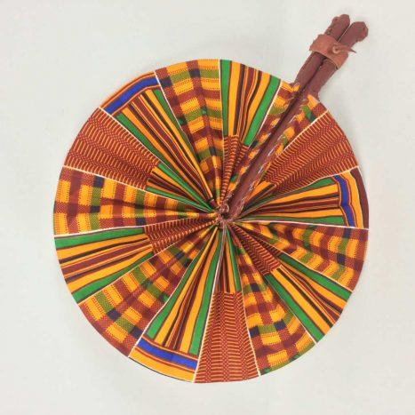 African Kente Fan 6