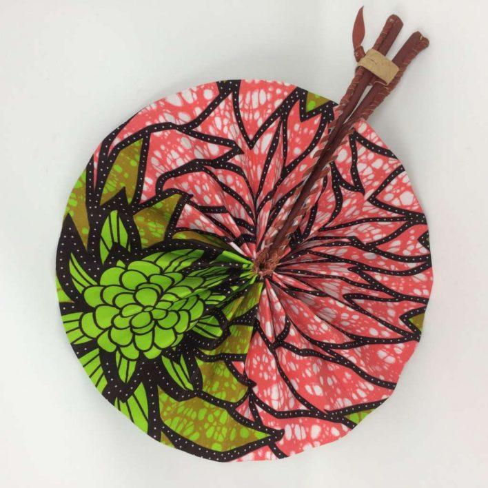 African Kente Fan 7