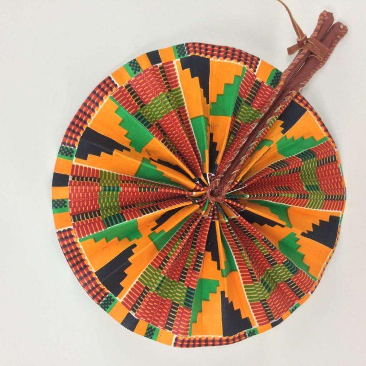 African Kente Fan 8