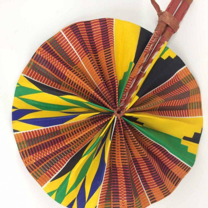 African Kente Fan 9
