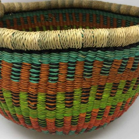 Medium Bolga Basket 12d