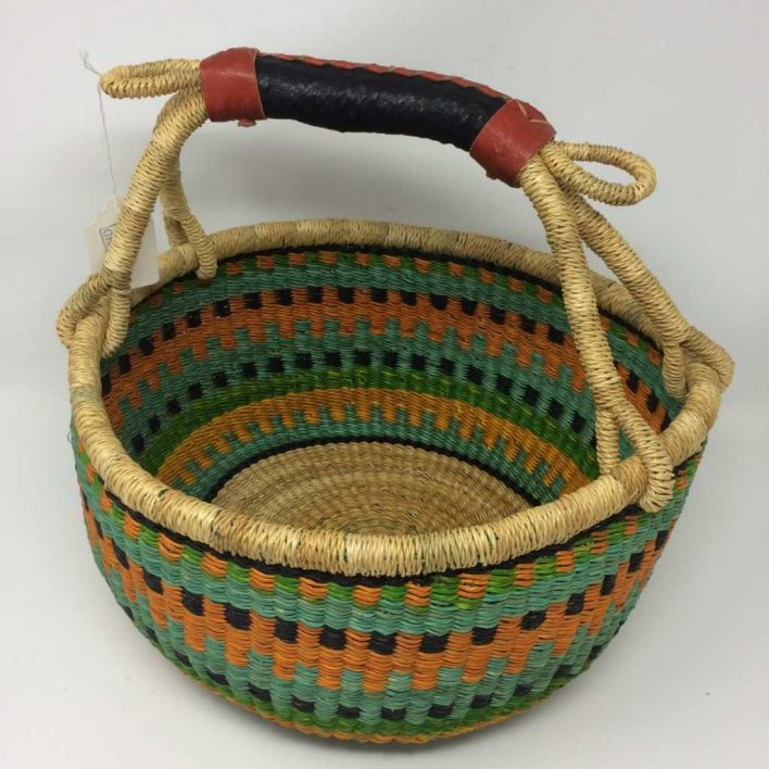 Medium Bolga Basket 12b