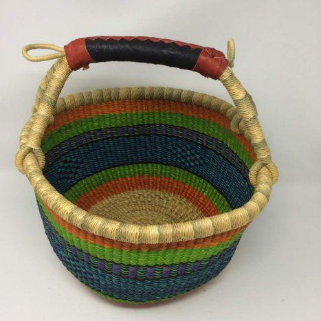 Medium Bolga Basket 12f