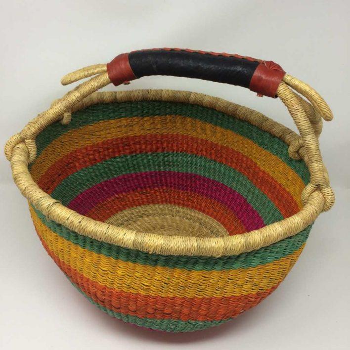 Large Bolga Basket 14b