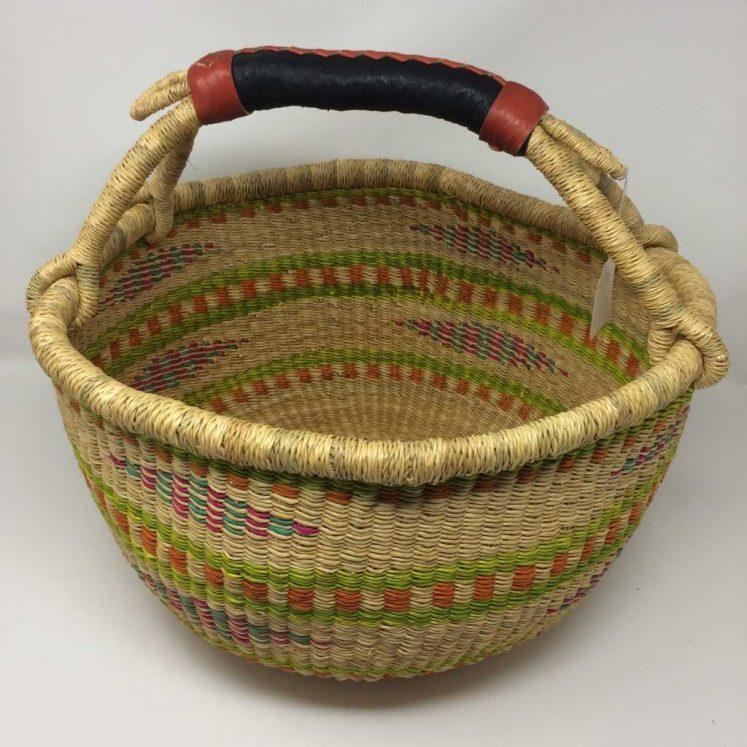 Large Bolga Basket 15s