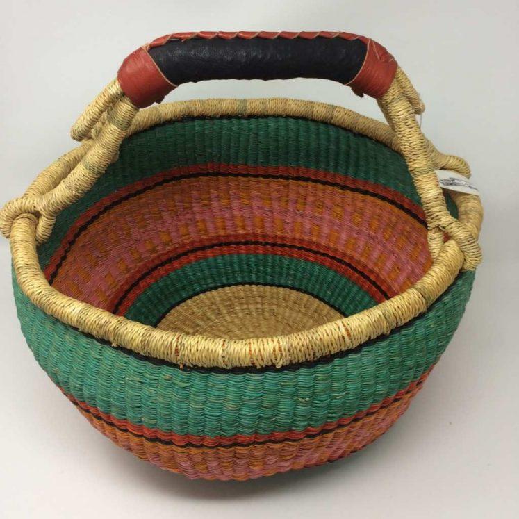 Large Bolga Basket 14c