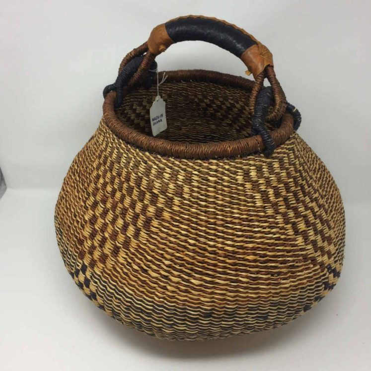 Medium Pot Bolga Basket (PBM4)