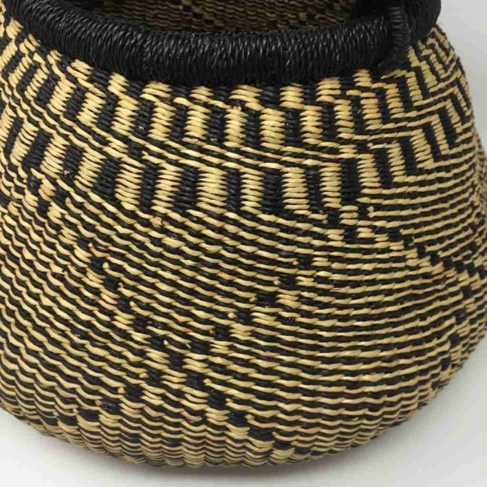 Medium Pot Bolga Basket (PBM3)