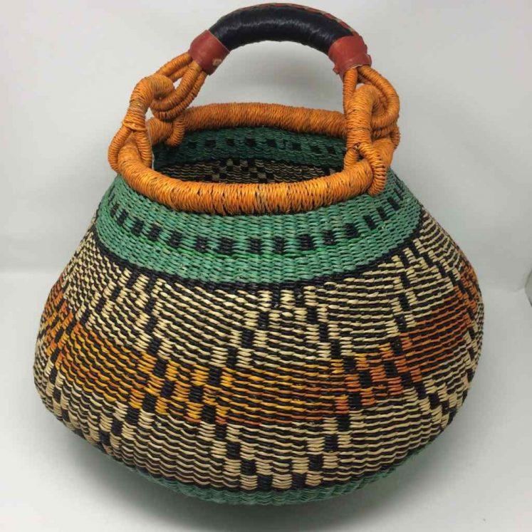 Large Pot Bolga Basket (PBL3)
