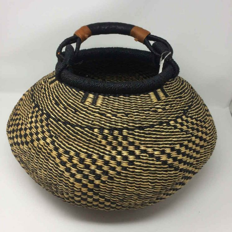 Large Pot Bolga Basket (PBL2)