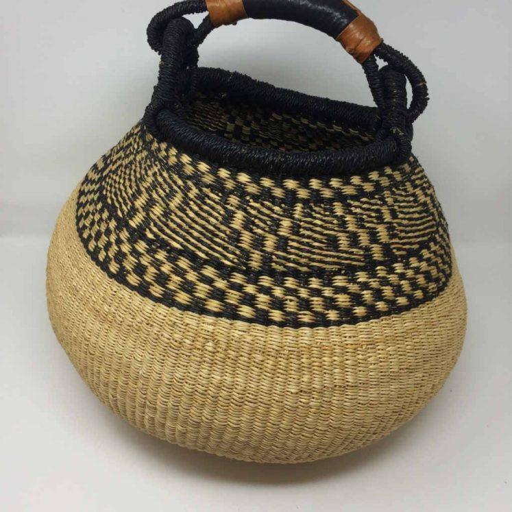 Large Pot Bolga Basket (PBL1)