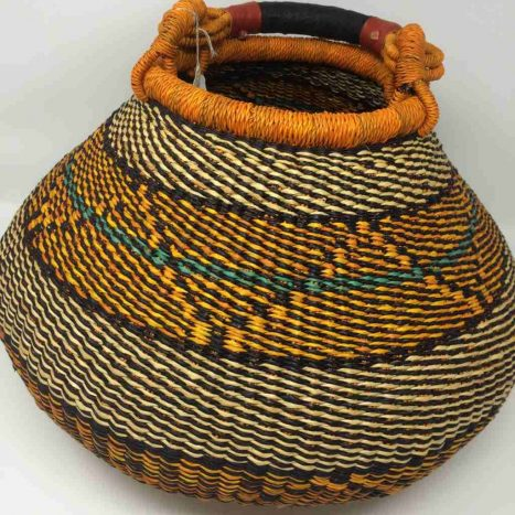Medium Pot Bolga Basket (PBM1)