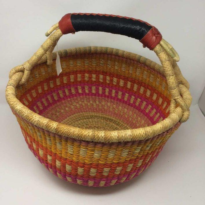 Large Bolga Basket 15p