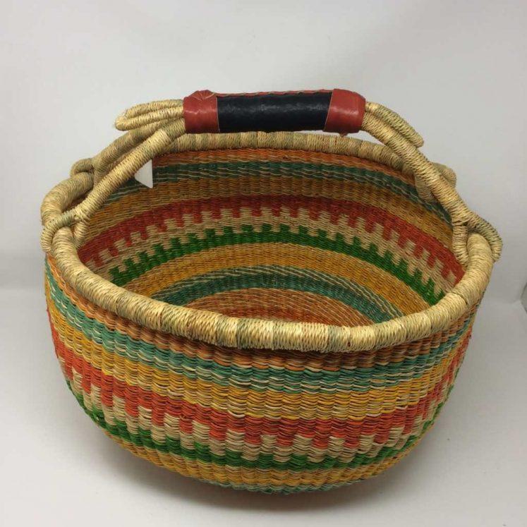 Large Bolga Basket 15b