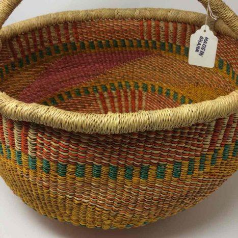 Large Bolga Basket 15c