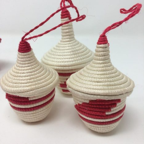 Agasake Peace Baskets – Miniature-Red
