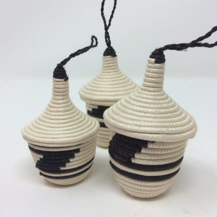Agasake Peace Baskets – Miniature-Black