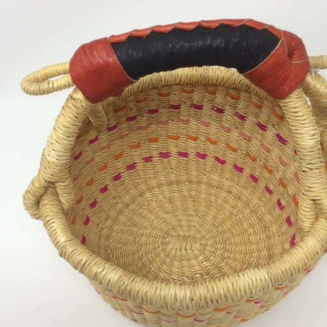 "Small Bolga Basket 8"" (8-11)"