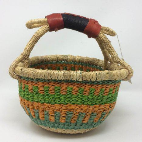 "Small Bolga Basket 8"" (8-9)"