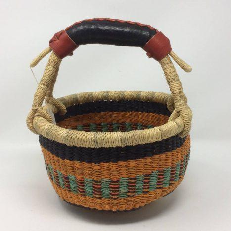 "Small Bolga Basket 8"" (8-7)"