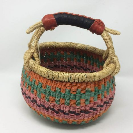 "Small Bolga Basket 8"" (8-10)"