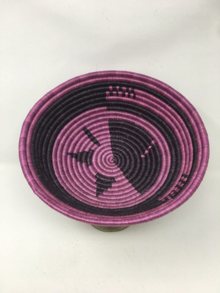Rwandan Baskets – Bowl Jocelyne