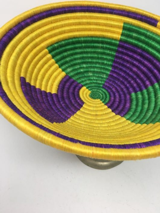 Rwandan Baskets – Bowl Donata 2